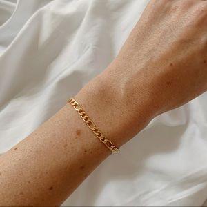 Chelsea Figaro Bracelet   18k Gold Filled